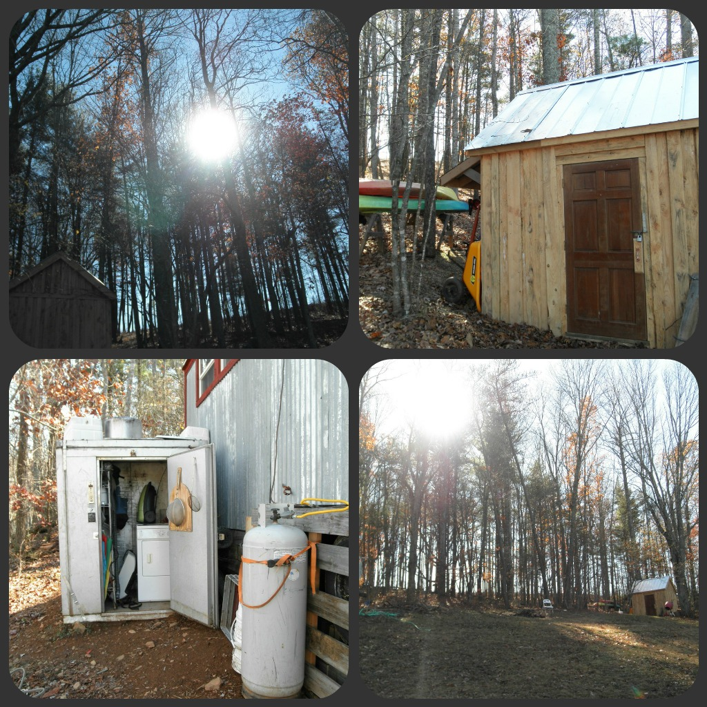 Tiny house sheds